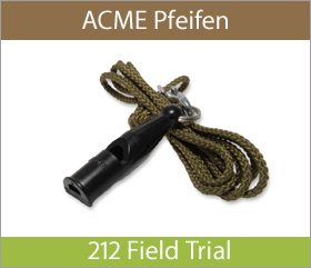 ACME Pfeifen 212 Field Trail