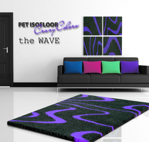 PET ISOFLOOR theWave Purple